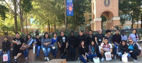 Wisdom Scholars Visit Sam Houston State University