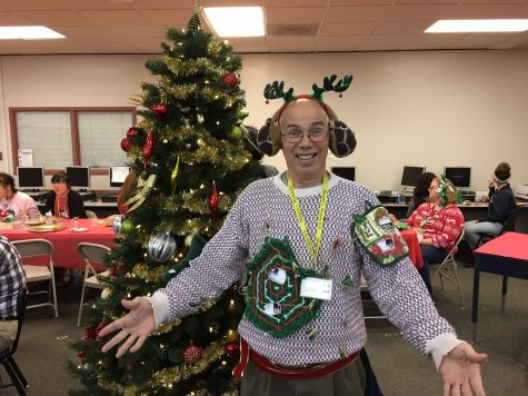 Skaggs wins Ugly Christmas Sweater Contest with Incredible Performance