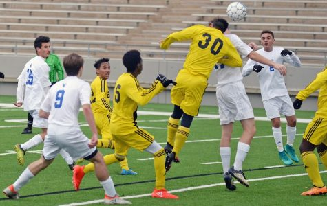 Boys Varsity Soccer Squad Takes The Field (With Photos)