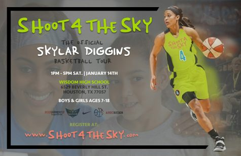 WNBA Player Skylar Diggins to Host Clinic at WHS on Saturday, January 14