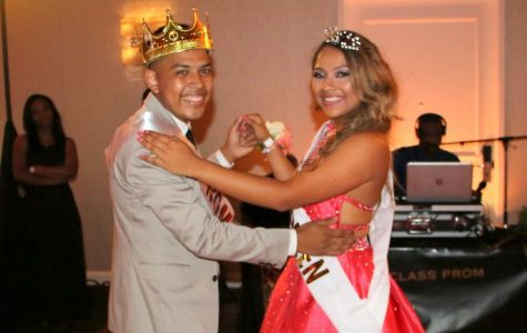 Class of 2017 Dances the Night Away; Cruz & Rodriguez Named Prom King & Queen