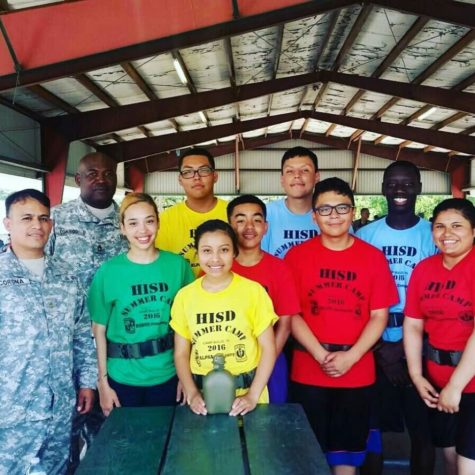 Wisdom JROTC Program Shines at Cadet Leadership Camp
