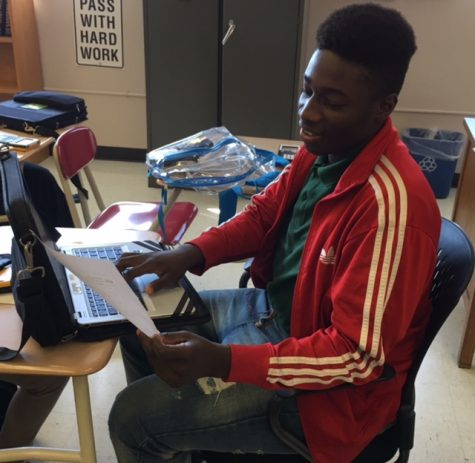 English Student of The Month: Akim Quaye