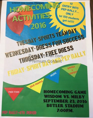 HOMECOMING WEEK 2016