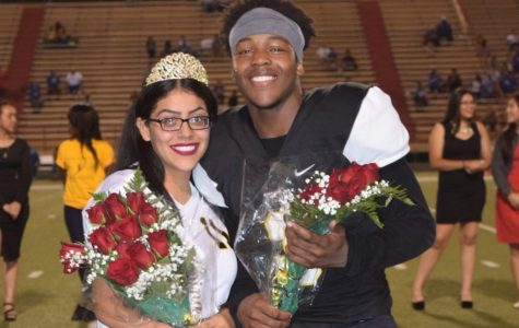 Vanessa Collazo and Nic Johnson were named 2016 Homecoming King & Queen