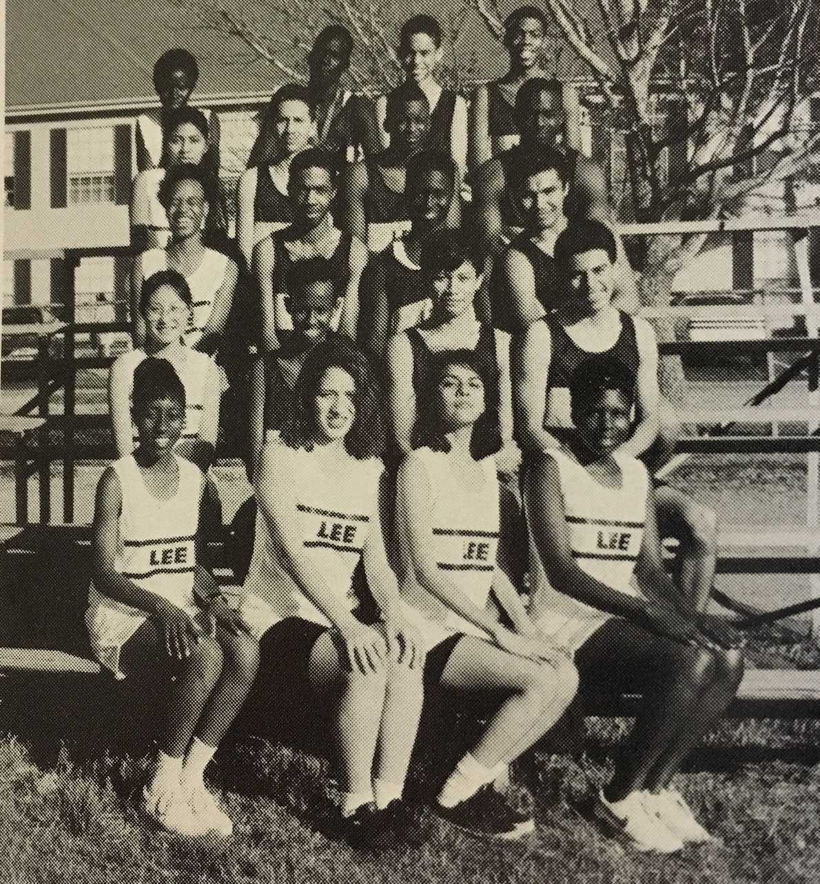 The 1995 Lee High School Track and Field Team