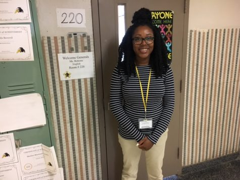 New Teacher of the Week: Ms. Bottoms