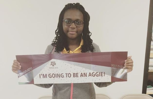 Vania Jaime is Headed to College Station to be an Aggie!