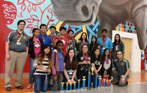 Wisdom UIL Academic Team Takes 2nd Place at Carnegie Vanguard TMSCA Invitational
