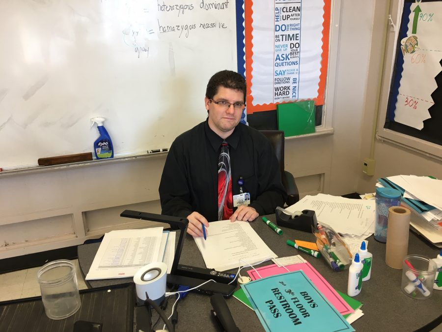 New Teacher of the Week: Mr. Boles