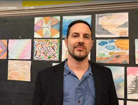 Painting New Beginnings: Wisdom Introduces Art Teacher Mr. Gustavo