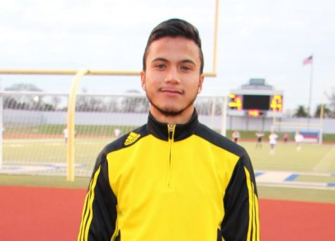 Eyes on the Goal; with Senior Abel Garcia
