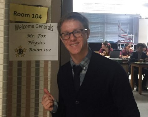 WHS Welcomes a New Physics Teacher – Mr. Fox