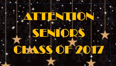 Senior Class: Order Your Platinum Package Before it's Too Late!