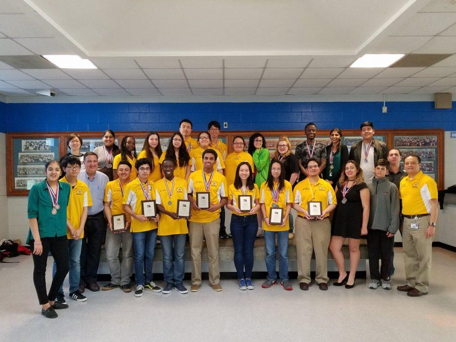 The 2017 Wisdom HS Generals UIL Academic Team won the Overall Sweepstakes Championship for District 24-5A.