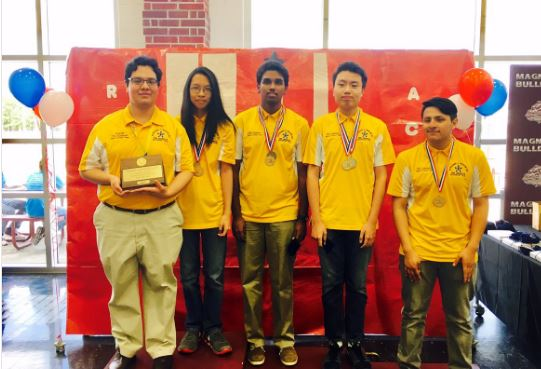 The Wisdom HS Calculator Applications Team won the Regional Championship at Magnolia HS, Saturday April 8.