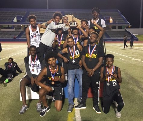 Generals Win District 24-5A Boys Track & Field Championship