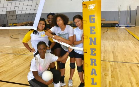 Lady Generals Attack the Net; Varsity Volleyball Opens Season