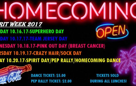 Wisdom Today: Oct. 16, 2017 – Homecoming Week! Guests: Ms. Savoy & Coach Tinsley