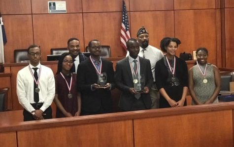 Junior Raoul Tchomba Wins $1,000 Scholarship in Debate Contest