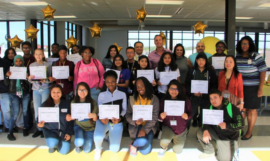 Students were recognized for their outstanding achievements during the Fall Semester