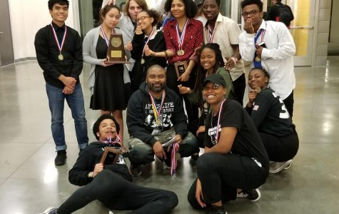 Wisdom Theater Wins District 24-5A UIL One Act Play Championship
