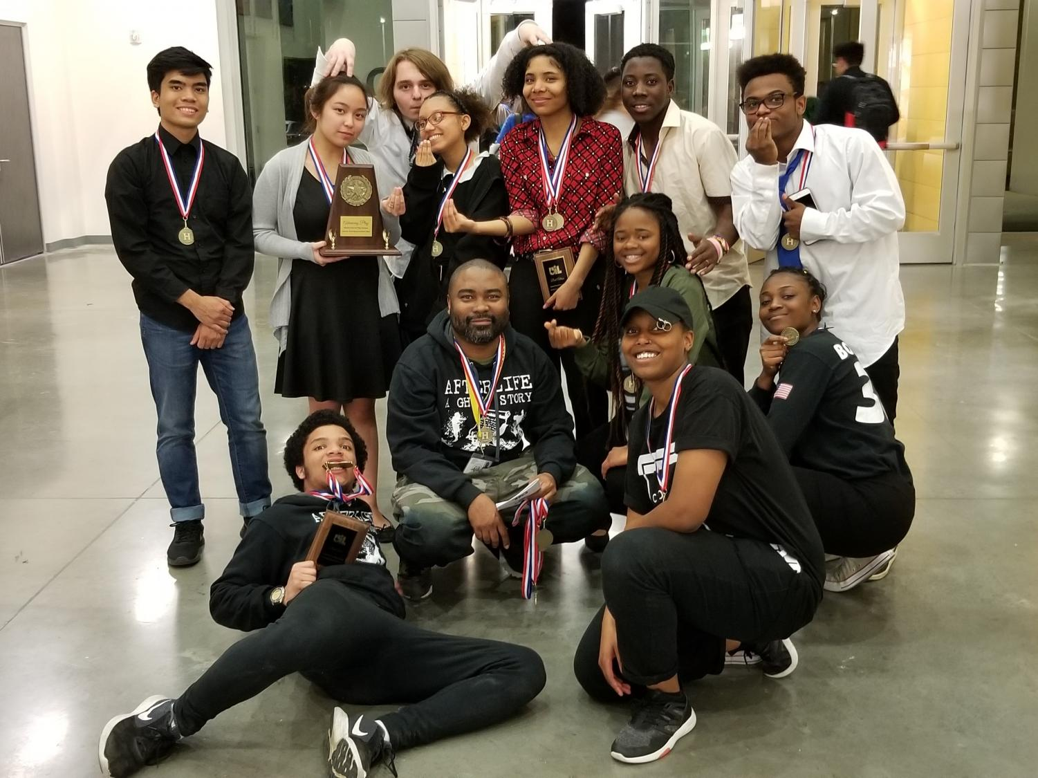 The Wisdom Theater Company took home the District 24-5A UIL One Act Play Championship with their version of