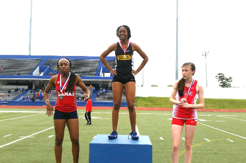 Kadija Samaro won the 400 Meter Dash