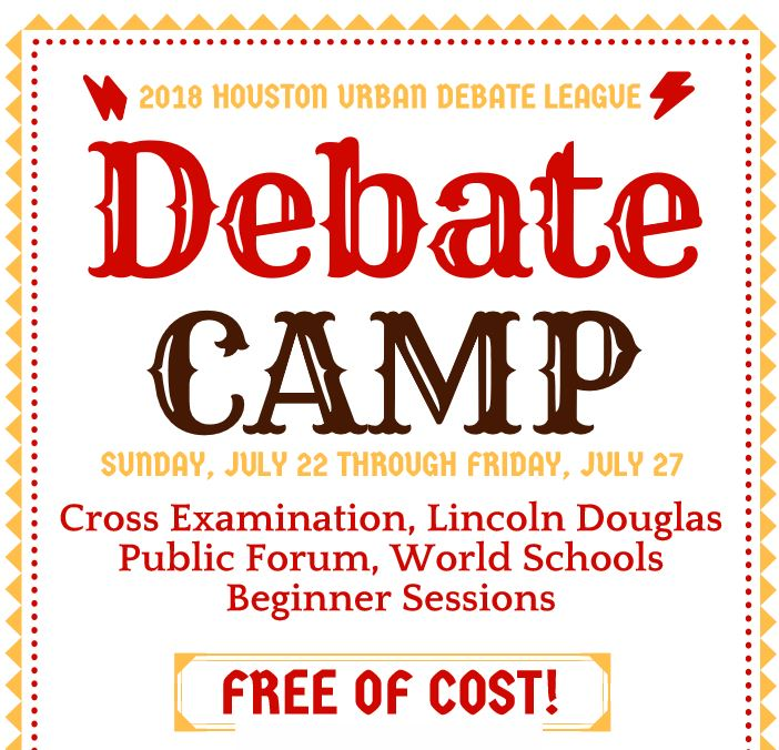 Free+Debate+Camp+for+Interested+Generals