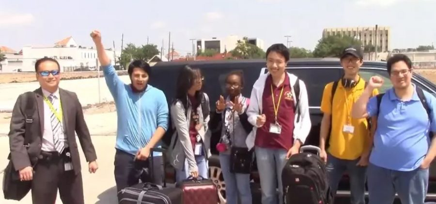 Principal Trinh, Coach Alcantar & the UIL Academic Math & Computer Science Team Head to the State Championship in Austin