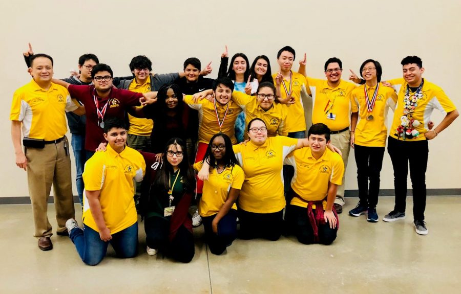 The Wisdom Generals 2018-19 UIL Academic Team at the Houston ISD Invitational held at North Forest HS; Sept. 22, 2018