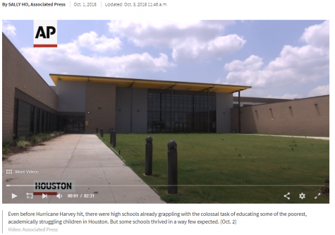 HISD TV Features Heartfelt Graduation Letters Spoken on Video, By Wisdom Senior & Teacher