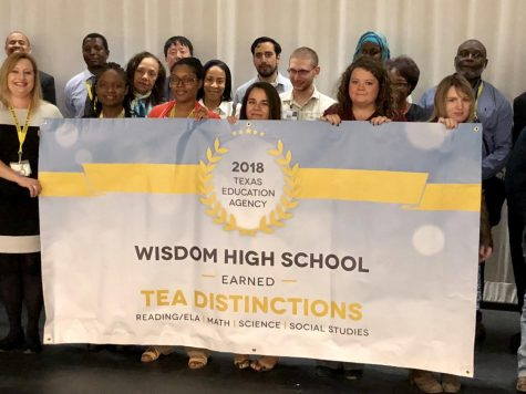 Wisdom High School Earns Four TEA Academic Distinctions