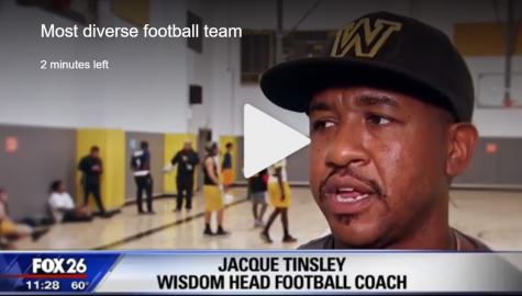 Wisdom Generals Football Team Featured on FOX 26 Houston
