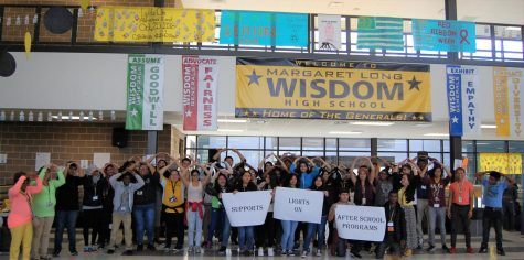 "Wisdom Hosts ""Lights On"" Event Promoting After-School Programs"