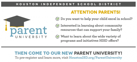 Parent U to be Held at Wisdom: Thursday, Nov. 15