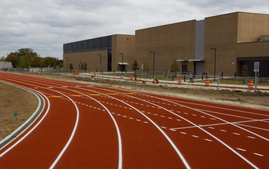 Newest Installations at Wisdom Include Running Track, Multi-Purpose Fields, & Covered Entry
