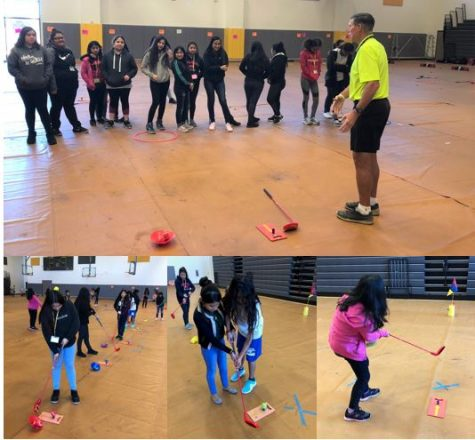 The First Tee of Greater Houston Introduces Golf to Wisdom P.E. Students