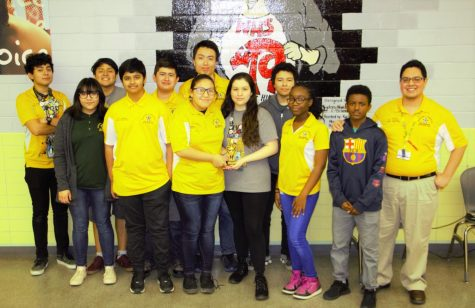 Wisdom Math Team Shines Again on Rainy Day