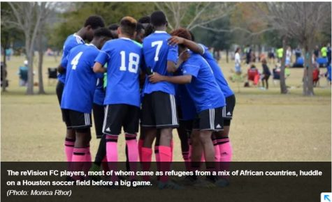 "Wisdom Student Athletes Featured in USA Today News: ""African teens find brotherhood on a Texas soccer team"""