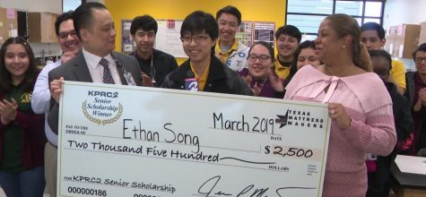 Valedictorian Ethan Song Wins KPRC-TV Senior Scholarship