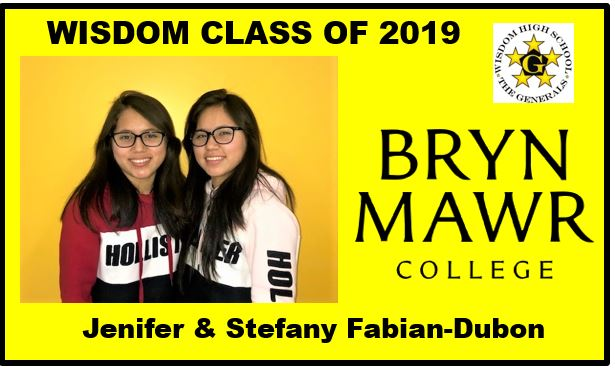 Wisdom+HS+seniors+Jenifer+%28left%29+and+Stefany+%28right%29+Fabian+Dubon+have+both+earned+full+scholarships+to+Bryn+Mawr+College+in+Pennsylvania.++