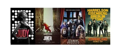 Movie Previews: Judy, Joker, Addams Family & Zombieland