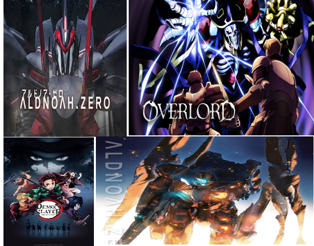 Top 3 Anime Picks to Watch: Demon Slayer; Aldnoah.Zero & Overlord