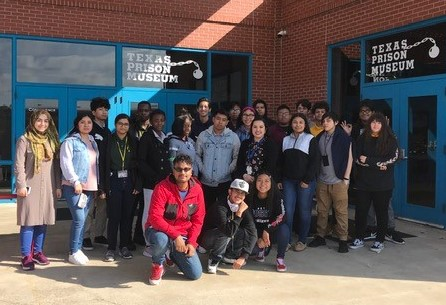 Wisdom Students visit the Texas Prison Museum