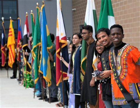 Students at M.L. Wisdom High School in Houston, Texas represent over 50 nationalities.