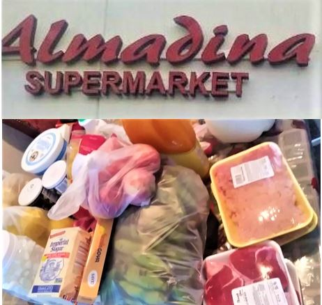 The Almadina Market (3210 Hillcroft) has helped provide thousands of dollars worth of groceries to needy students & families of Wisdom High School