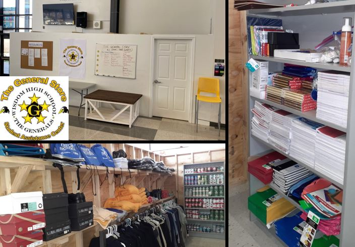"""""""The General Store"""" Opens on the Campus of HISD's Wisdom High School"""
