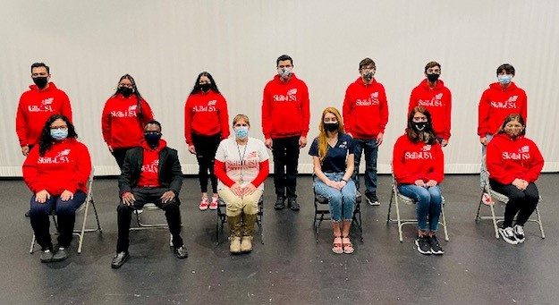 Wisdom Advances 13 Students to Texas State Finals of 2021 Skills USA Competition