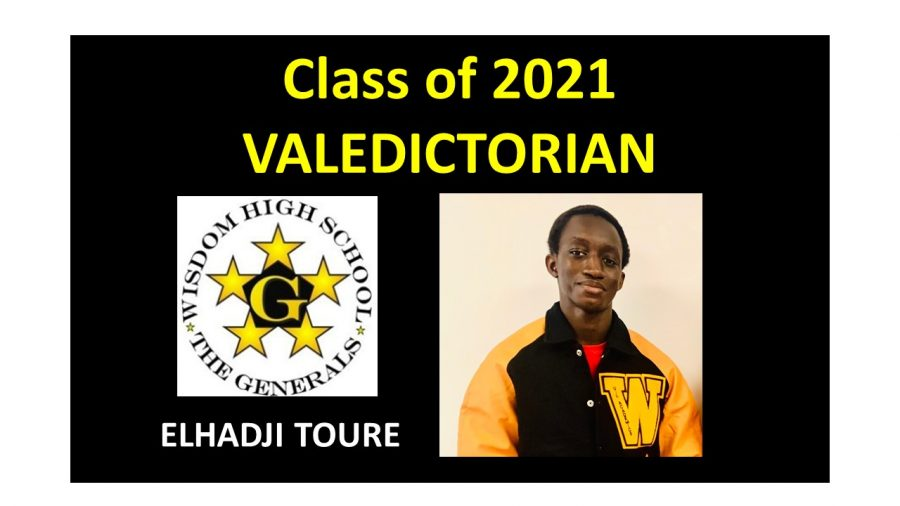 Wisdom's Class of 21 Valedictorian Takes Unique Path to the Top